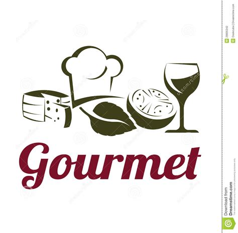 logo cuisine gourmet cuisine logo stock photography image 29835342