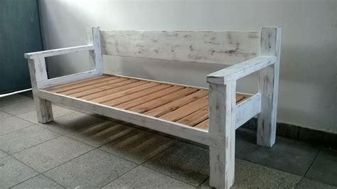 creer canape sillón reciclado madera canapés créer et bois
