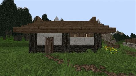 Small Japanese House [tutorial] Minecraft Project