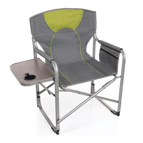 cing chair with side table director 39 s chair with side table intersource d09 1218