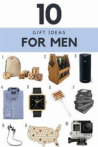 Happy Birthday to Hubby: Gift Ideas for Men - My Plot of