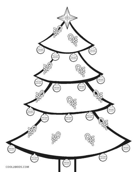 printable christmas tree for kids printable tree coloring pages for cool2bkids