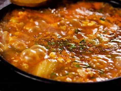 soft tofu recipes video how to make soondubu jjigae korean soft tofu stew serious eats