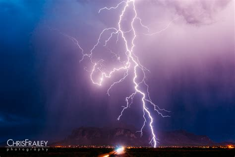 superstition mountain lightning