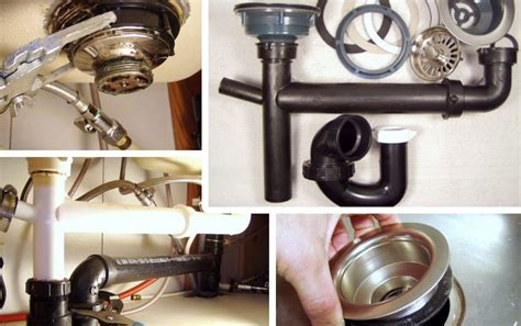 how to remove a kitchen sink how to remove fix a kitchen sink drain mobile home repair