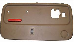 2003 Chevy Kodiak Lh Rear Door Panel Tan