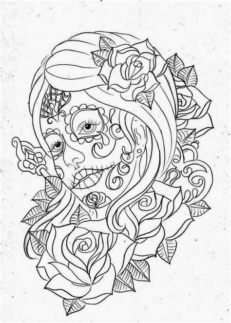 Tattoos Book: +2510 FREE Printable Tattoo Stencils: Day Of The Dead tattoo stencils