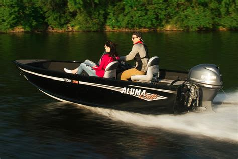 New 2017 Alumacraft Escape 145 Cs Power Boats Outboard In