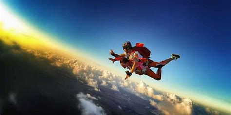 Parachute Dive by Mauritius Skydive Tandem Skydiving Mauritius Attractions