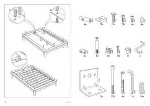 ikea hagali bedframe furniture download manual for free