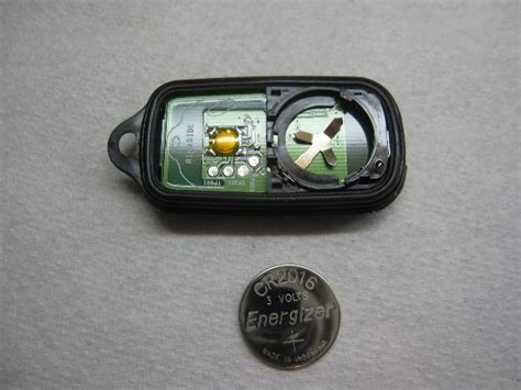 toyota key fob battery replacement guide