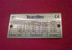 Pump  U0026 Motor Nameplate   U0928 U0947 U092e  U092a U094d U0932 U0947 U091f