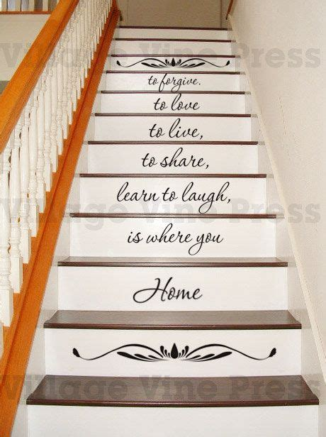 home    includes scroll decals staircase decal