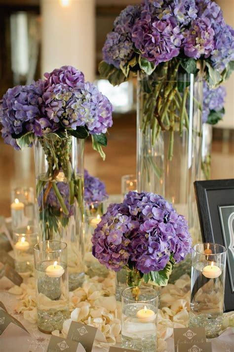 ideas  hydrangea wedding centerpieces