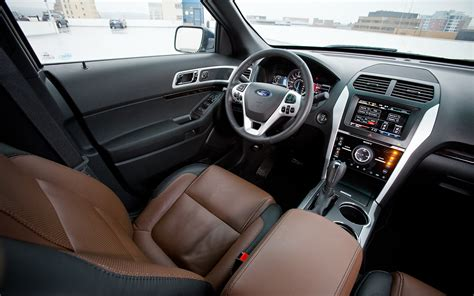 ford explorer interior 2012 ford explorer limited 4wd editors notebook