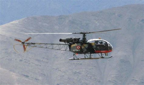 cheetah helicopter crashes  army officers killed
