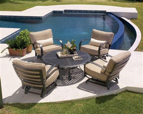 the fit patio furniture for great garden design