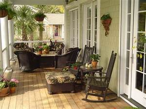 small enclosed porch decorating ideas relaxing front With relax warm and decorating front porch ideas