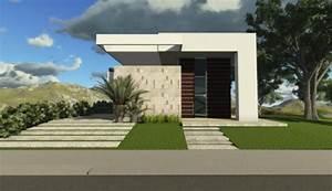 60 Fachadas De Casas Modernas De Un Piso Y Dos Pisos