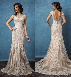 amelia sposa 2017 sexy wedding dresses v neck backless With lace wedding dresses 2017