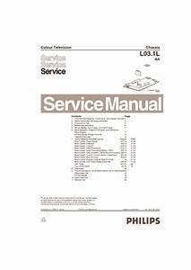 Philips L03 1laa En 3122 785 13901 Pdf Diagramas De