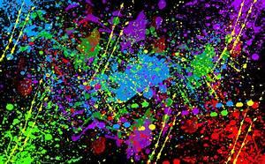 Paint Splatter Wallpaper - GzsiHai.com
