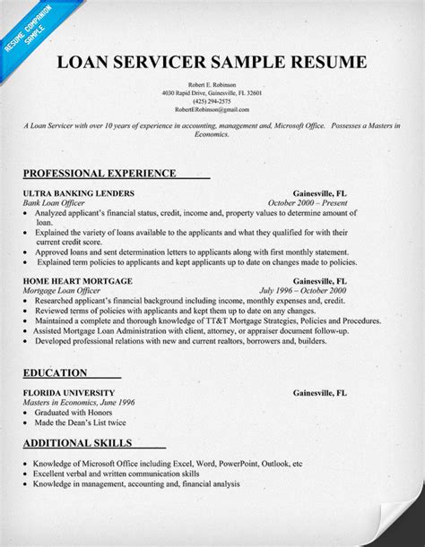 Mortgage Resume by Mortgage Processor Resume Sle Sle Cover Letter Loan Processor Resume Sle Sle Of