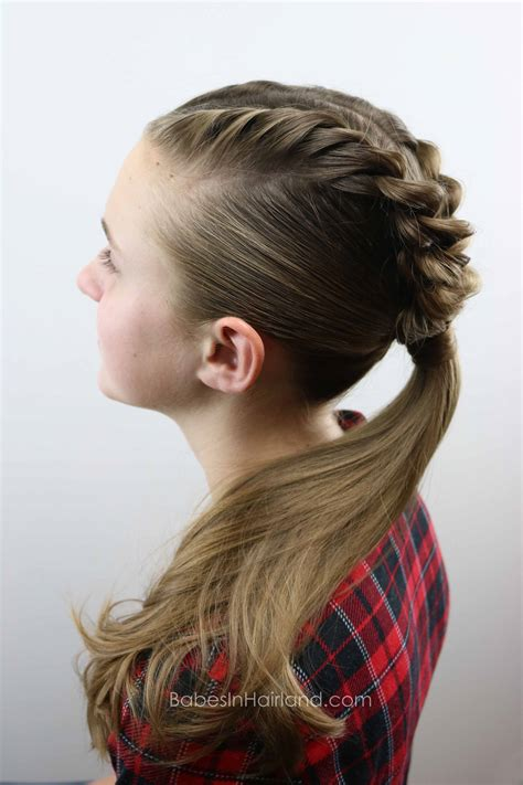 french twists   ponytail babes  hairland