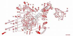 Cylinder Head For Honda Pcx 125 2015   Honda Motorcycles  U0026 Atvs Genuine Spare Parts Catalog