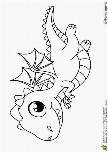 Dessin Dragon Facile Coloriage Dragons Coloring Colorier