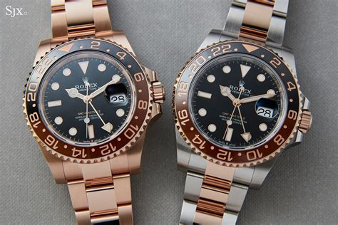 Hands-On with the Rolex GMT-Master II, In Both Everose and ...