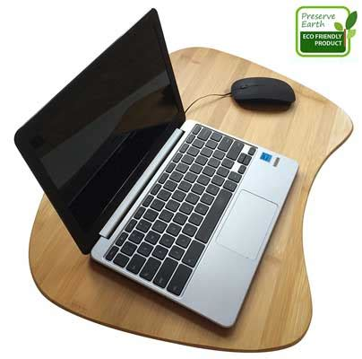 bamboo wood contour lap desk top 10 best lap desk in 2018 reviews