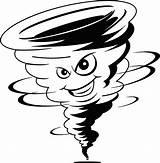 Tornado Cartoon Clipart Transparent Outline Drawing Twister Shutterstock Pub Clipartkey sketch template
