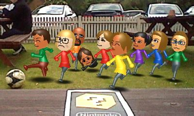 Enter & enjoy it now! miis are playing football by yungdeez on DeviantArt