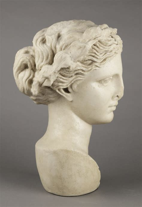 A Modern Plaster Head of Aphrodite   Collection   WOLFS ...