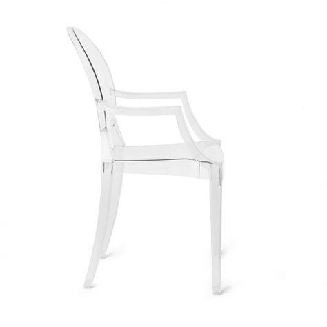 Lou Lou Ghost  Chaise Avec Accoudoirs Enfant Kartell