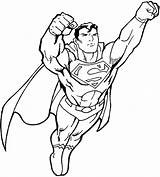 Superman Coloring Pages Cool Printable sketch template