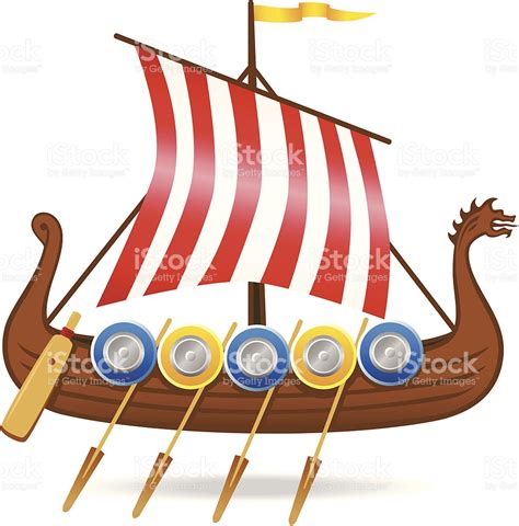 Viking Boat Flags by Clipart Viking Ship Pencil And In Color