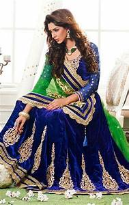 Picture of Appealing Mehendi Green and Dark Blue Wedding ...
