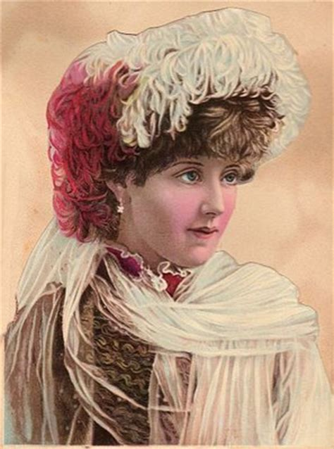 victorian lady  feather hat  graphics fairy