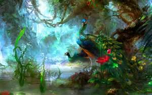 Peacocks Computer Wallpapers, Desktop Backgrounds