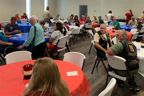 veterans gather fourth july brunch marshall county dailycom