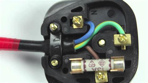 How Wire Iec Plug Youtube