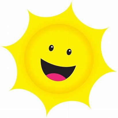 Clipart Sunshine Smiley Cliparts Sun Clip Library
