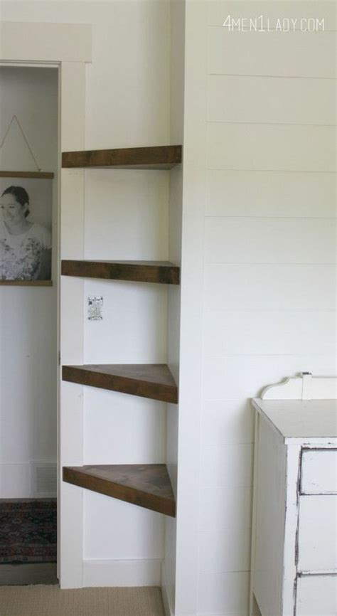 Building Bedroom Shelves by Diy Floating Shelves