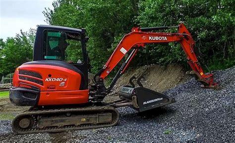 video blade buddy bucket  excavators skid steer abilities