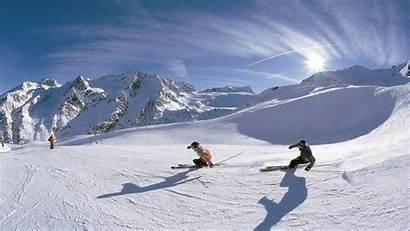 Ski Skiing Winter Mountains Snow Wallpaperup Sign