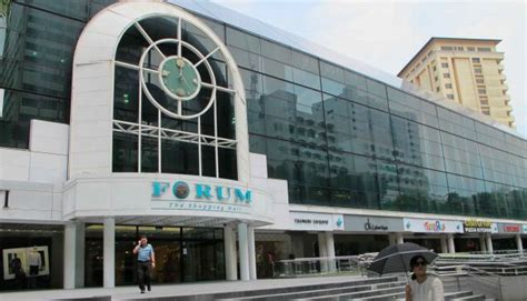 forum the shopping mall in singapore my guide singapore