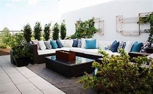 Terrasse Gestalten Modern : wohnung mit terrasse ~ Watch28wear.com Haus und Dekorationen