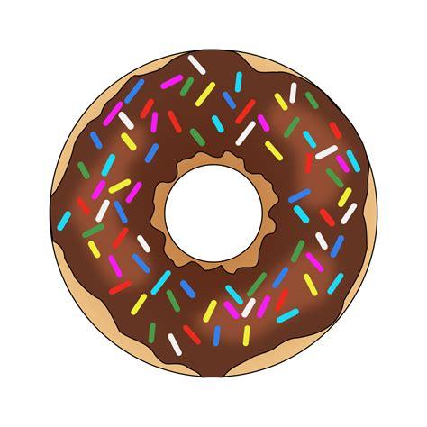 Donut Clipart Doughnut Clipart Rainbow Sprinkles Pencil And In Color
